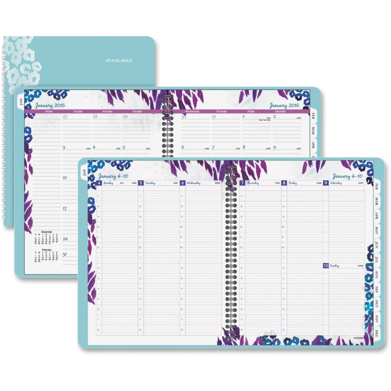At-A-Glance Wild Washes Weekly/Monthly Professional Planner 523905 AAG523905