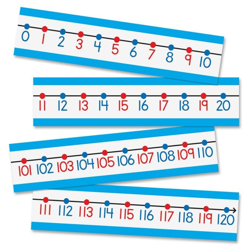Carson-Dellosa Number Line Bulletin Board Set 110215 CDP110215