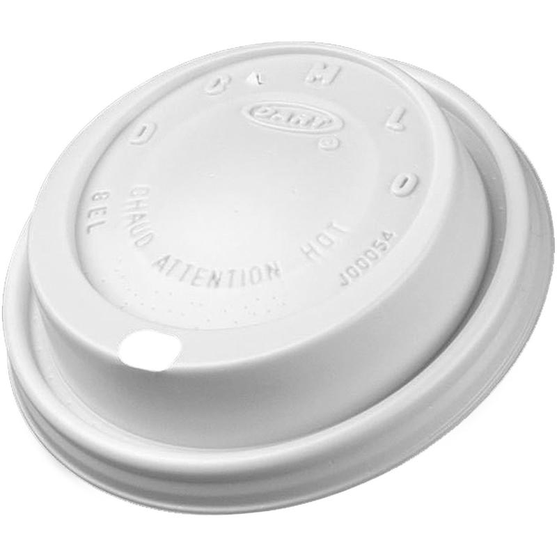 Dart 8 oz. Foam Cup Lids 8EL DCC8EL