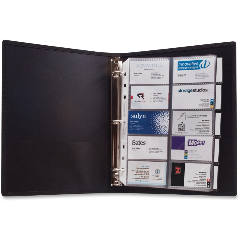 Anglers 3-Ring Business Card Binder 303 ANG303
