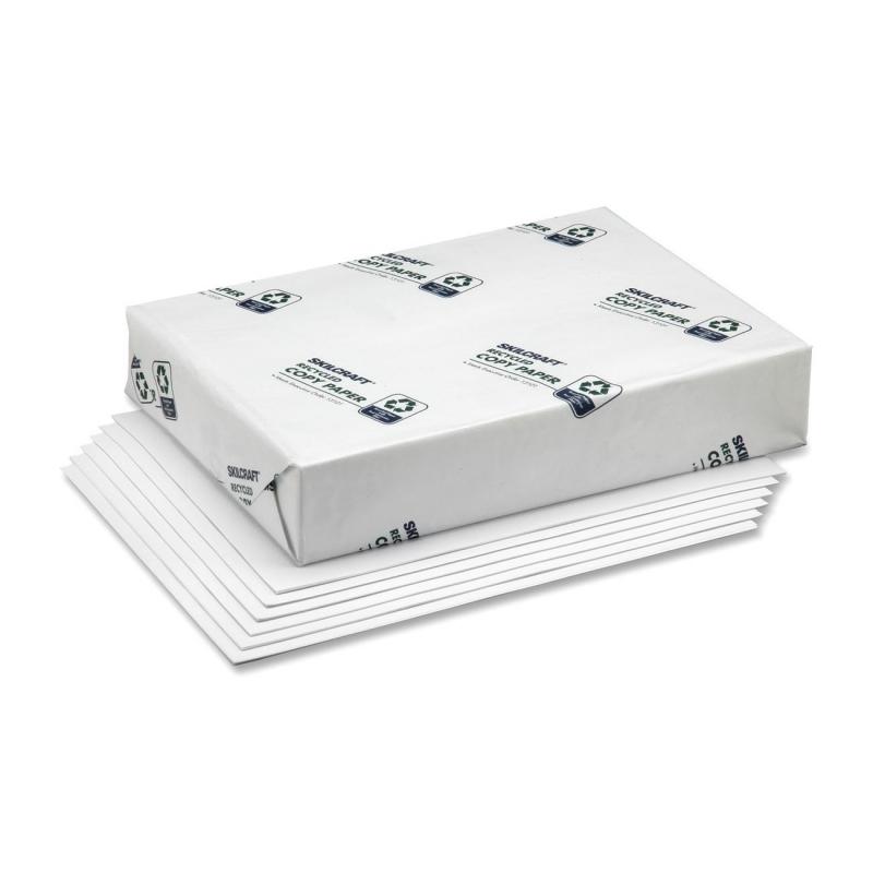 SKILCRAFT Alkaline Xerographic Paper 7530-01-398-2652 NSN3982652