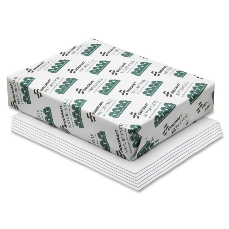 SKILCRAFT Process Chlorine Free Copier Paper 7530-01-503-8441 NSN5038441