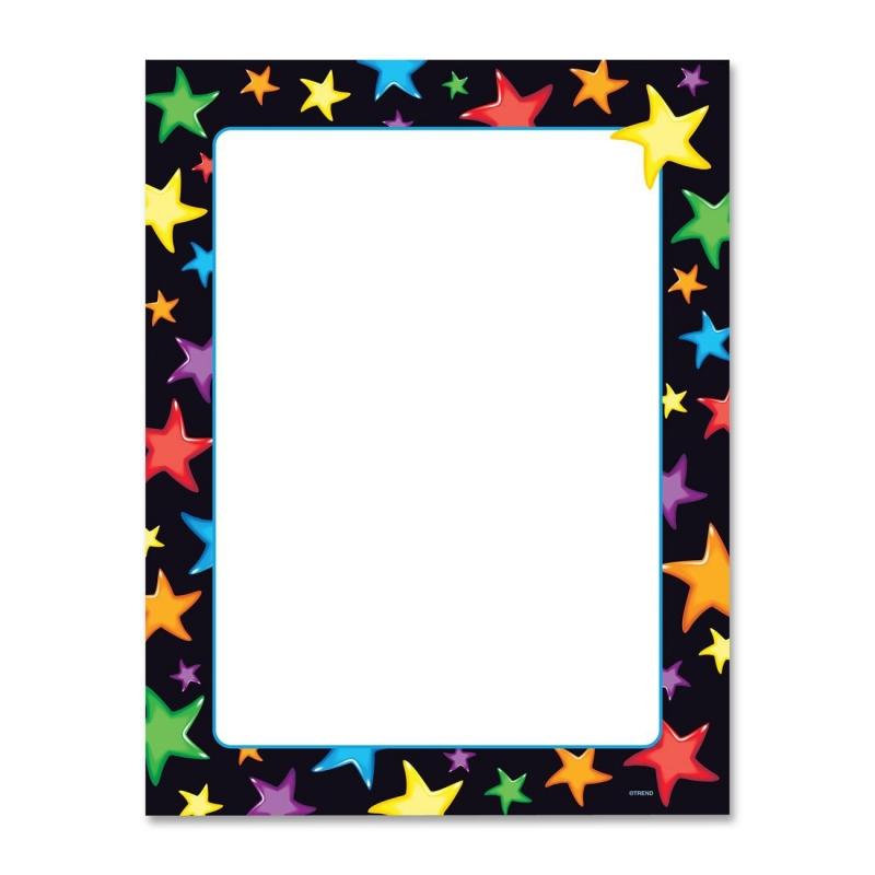 Trend Gel Stars Terrific Multipurpose Paper T11413 TEPT11413