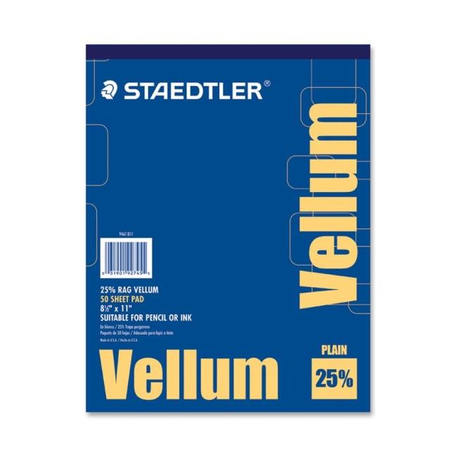 Staedtler Vellum Paper Pad 946T 811 STD946T811