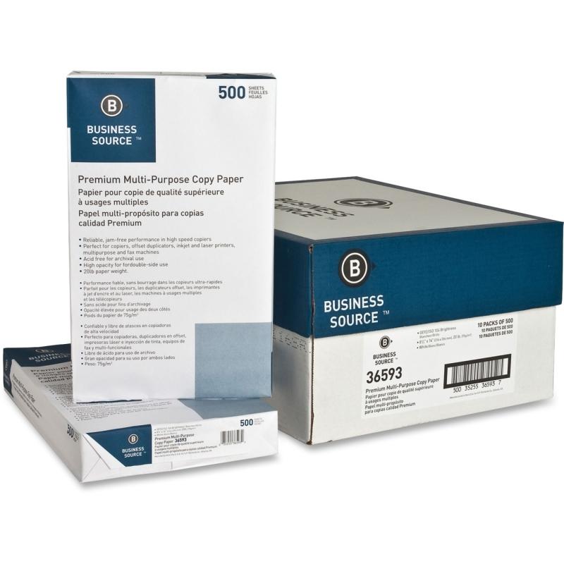 Business Source Multipurpose Paper 36593PL BSN36593PL