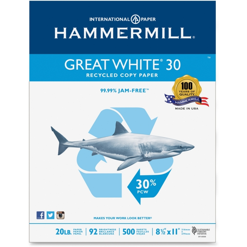 Hammermill Recycled Copy Paper 86700PL HAM86700PL
