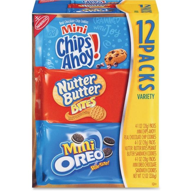 Nabisco Bite-size Cookie Variety Pack 02024 NFG02024