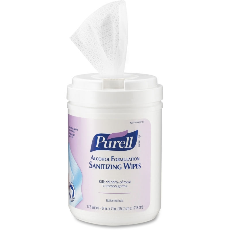 Purell Alcohol Hand Sanitizing Wipes 9031-06 GOJ903106