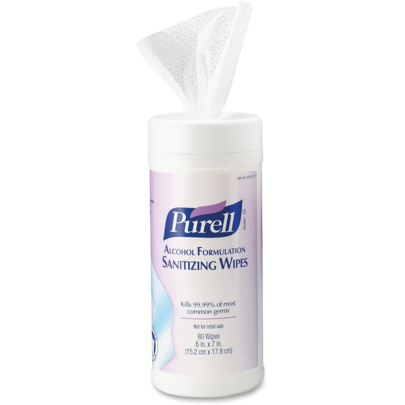 Gojo Alcohol Hand Sanitizing Wipes 903012 GOJ903012