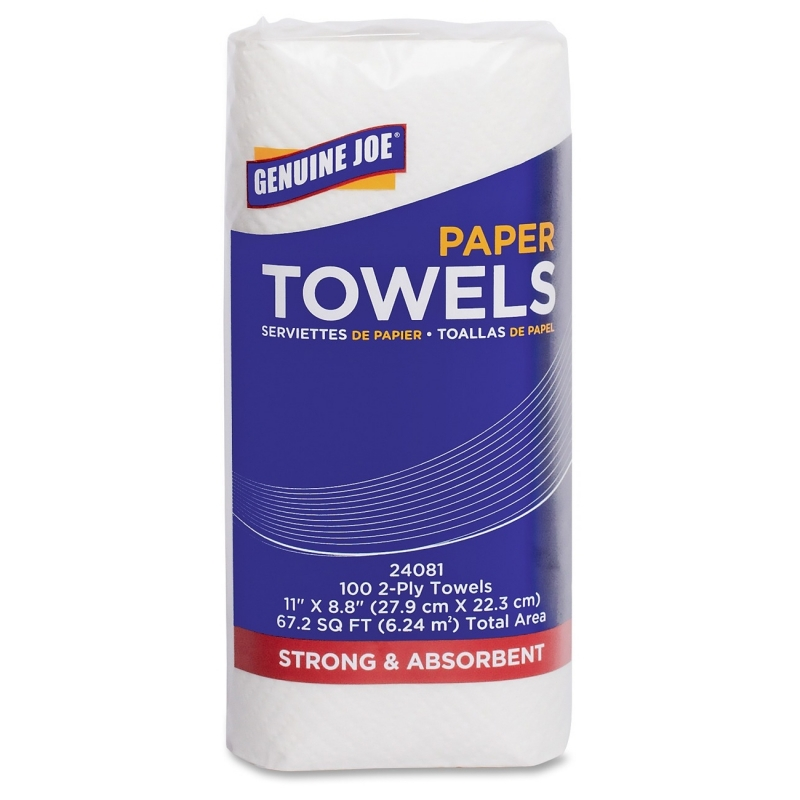 Genuine Joe 2-ply Household Roll Paper Towels 24081 GJO24081