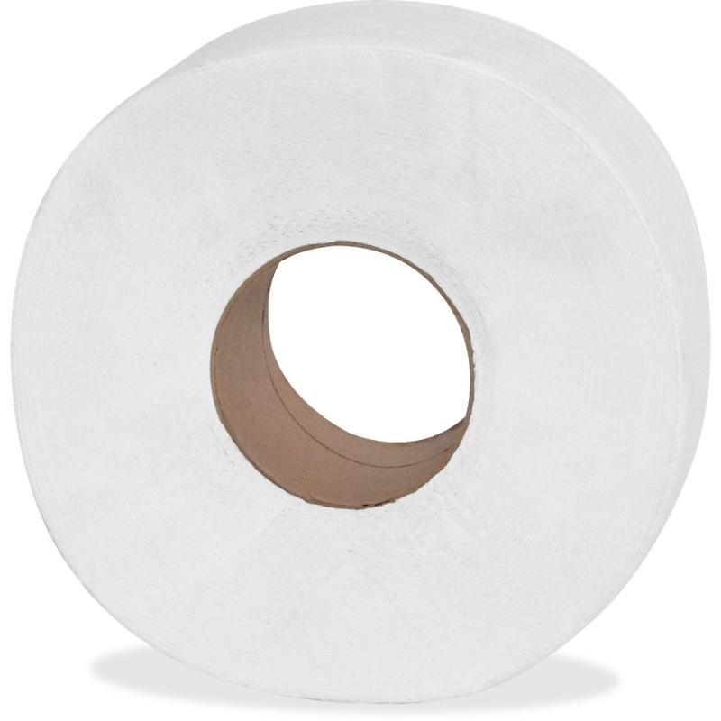Genuine Joe 2-ply Jumbo Roll Dispensor Bath Tissue 2565012 GJO2565012