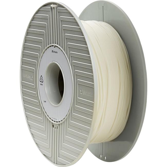 Verbatim 3D Filament, Flexible, PRIMALLOY 1.75mm 500g Reel - White 55500