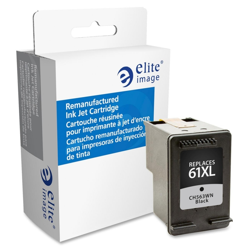 Elite Image Remanufactured High Yield Ink Cartridge Alternative For HP 61XL (CH563WN) 75803 ELI75803