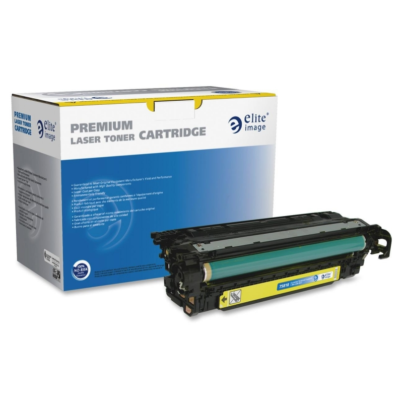 Elite Image Remanufactured Toner Cartridge Alternative For HP 507A (CE402A) 75818 ELI75818