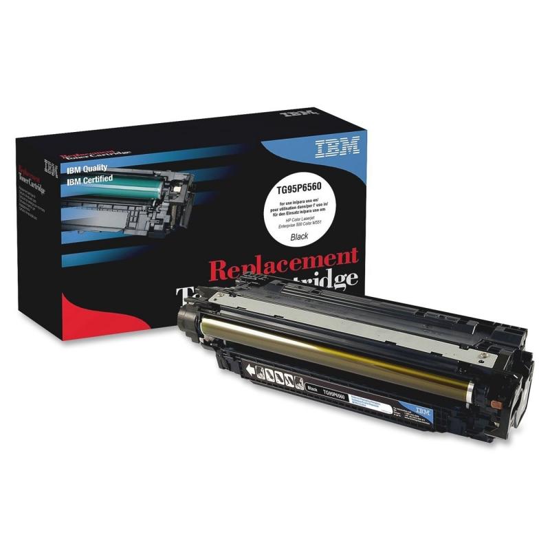 IBM Remanufactured Toner Cartridge Alternative For HP 507A (CE400A) TG95P6560 IBMTG95P6560