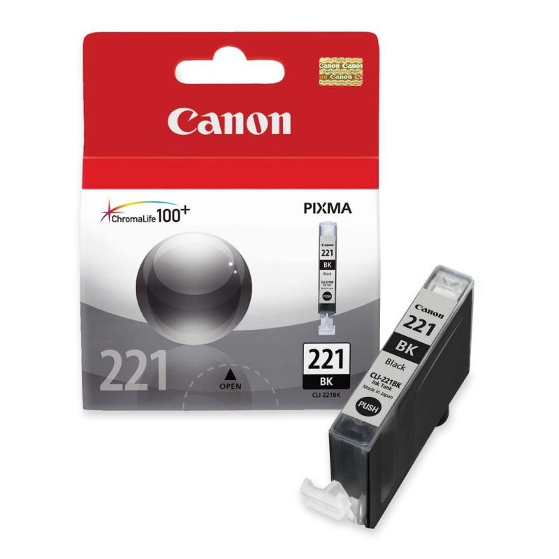 Canon Black Ink Cartridge CLI-221BK CNMCLI221BK