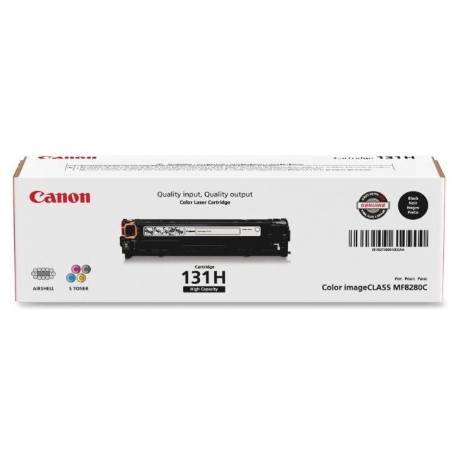 Canon Laser Printer Toner Cartridge CRTDG131HYBK CNMCRTDG131HYBK 131