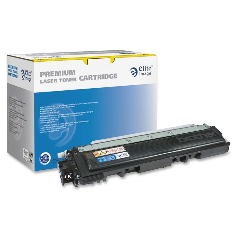 Elite Image Remanufactured Toner Cartridge Alternative For Brother TN210BK 75659 ELI75659