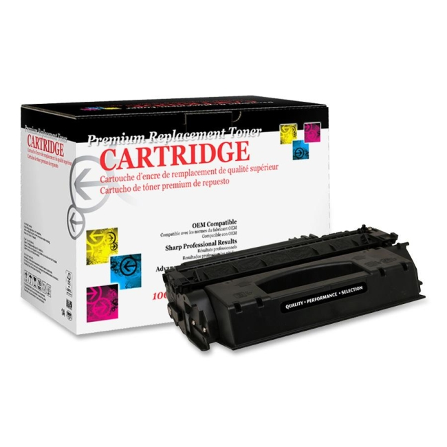 West Point Remanufactured Toner Cartridge Alternative For HP 53X (Q7553X) 200005P WPP200005P