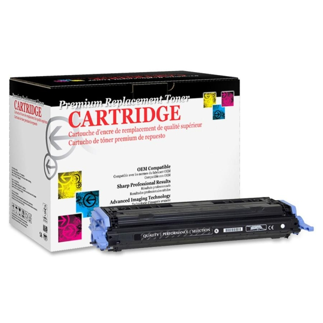 West Point Remanufactured Toner Cartridge Alternative For HP 124A (Q6000A) 200073P WPP200073P