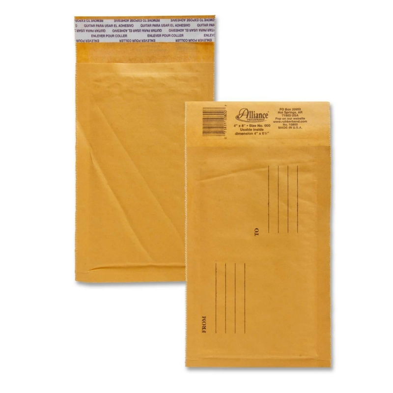 Alliance Rubber Kraft Bubble Mailer 10800 ALL10800