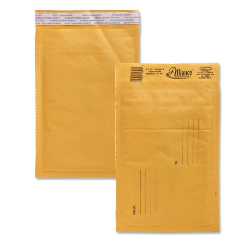Alliance Rubber Kraft Bubble Mailer 10802 ALL10802