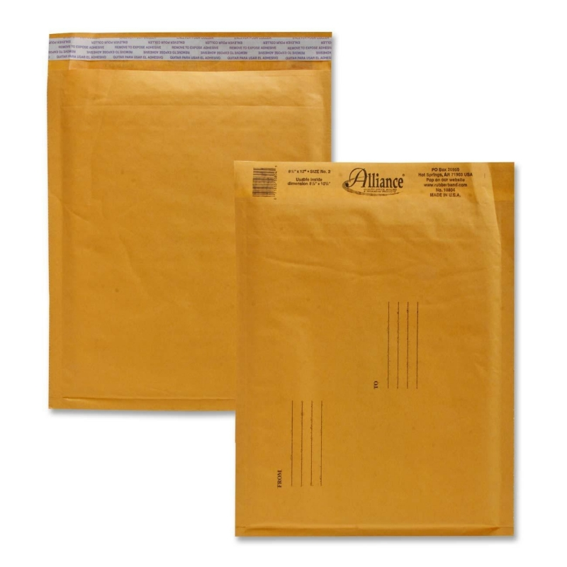 Alliance Rubber Kraft Bubble Mailer 10804 ALL10804