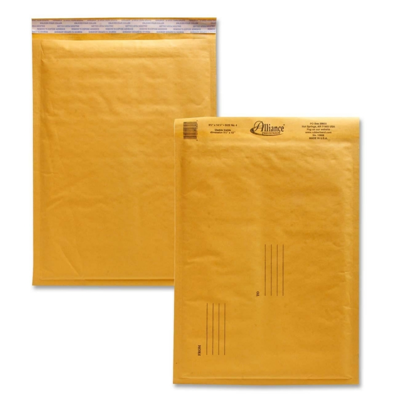 Alliance Rubber Kraft Bubble Mailer 10806 ALL10806