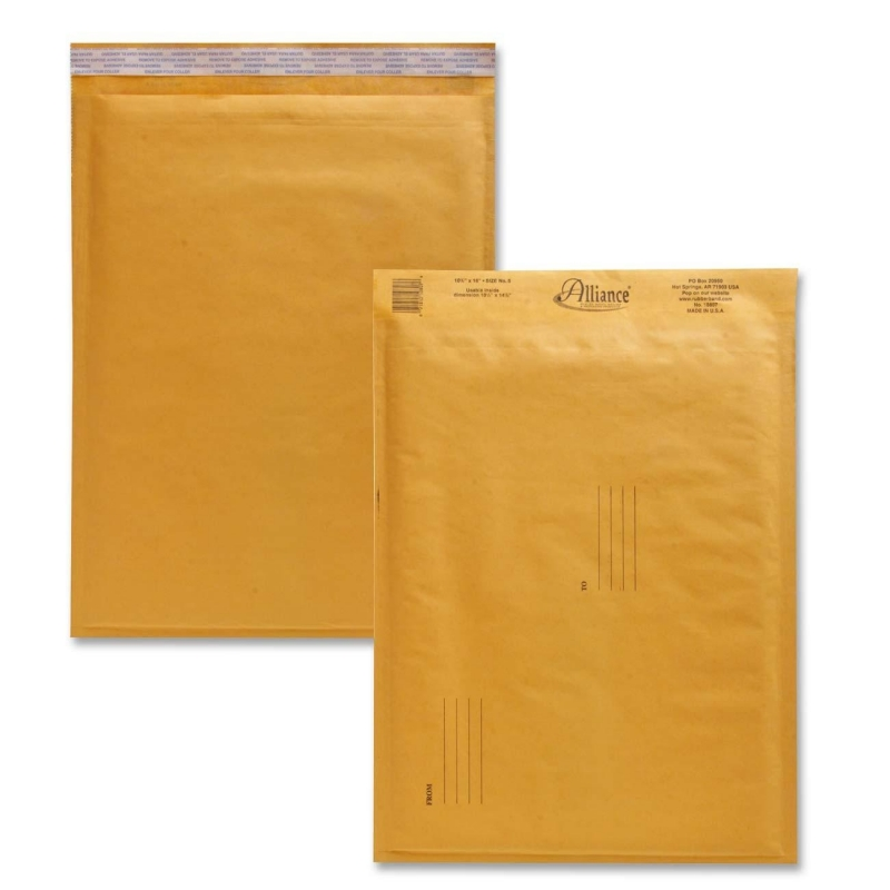 Alliance Rubber Kraft Bubble Mailer 10807 ALL10807
