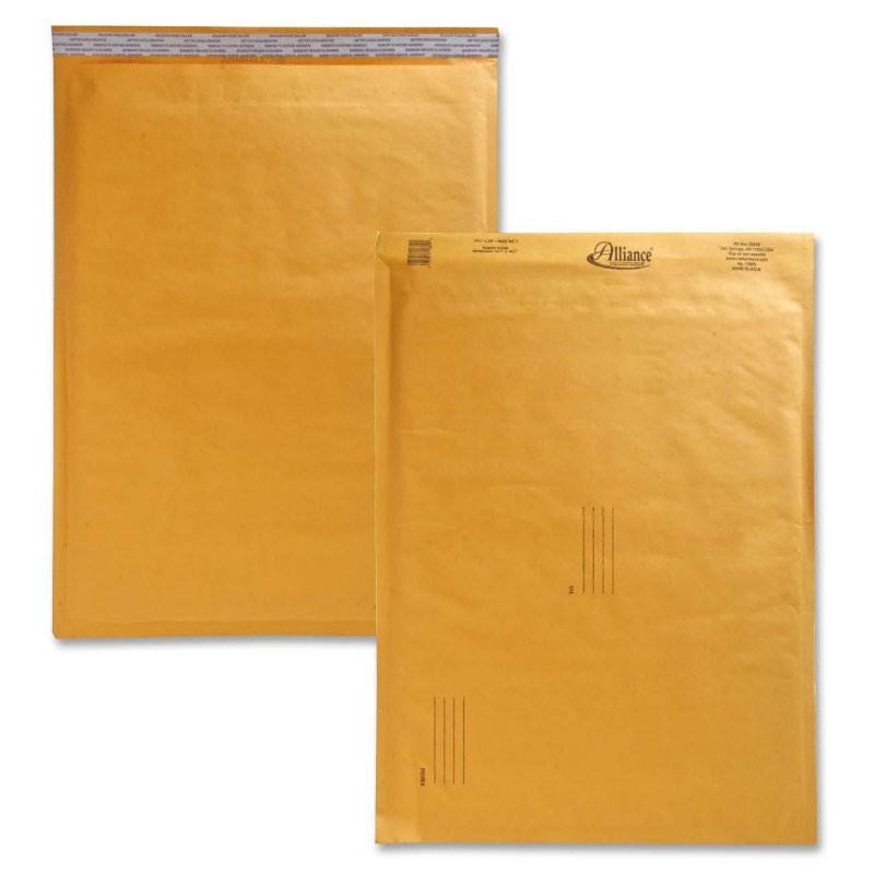 Alliance Rubber Kraft Bubble Mailer 10809 ALL10809