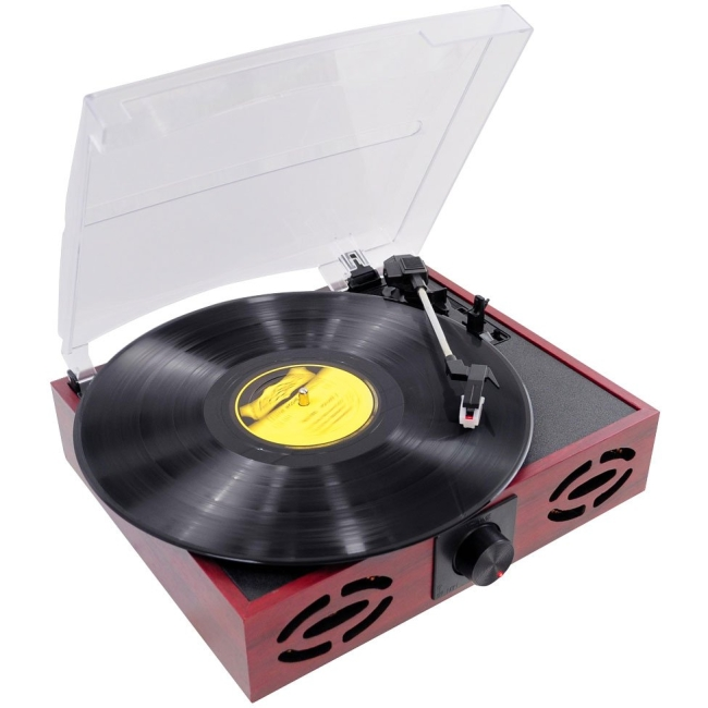 PylePro Retro Style Turntable With USB-to-PC PVNT7U