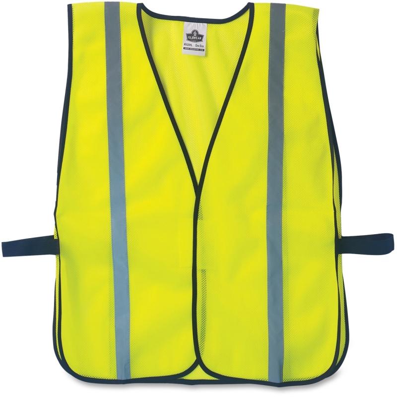 GloWear Lime Standard Vest 20040 EGO20040 8020HL