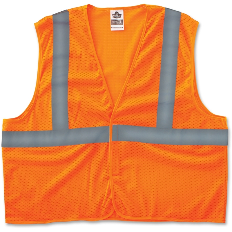 GloWear Class 2 Orange Super Econo Vest 20967 EGO20967 8205HL