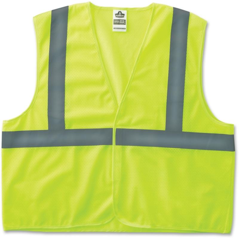 GloWear Class 2 Lime Super Econo Vest 20977 EGO20977 8205HL