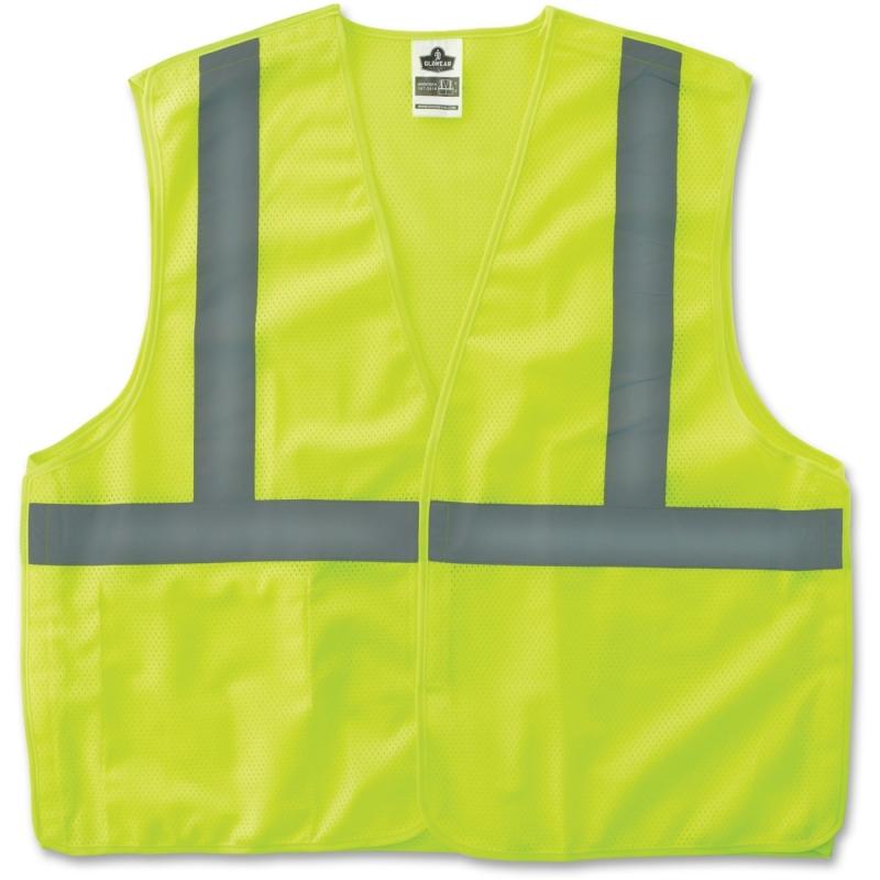 GloWear Lime Econo Breakaway Vest 21075 EGO21075 8215BA