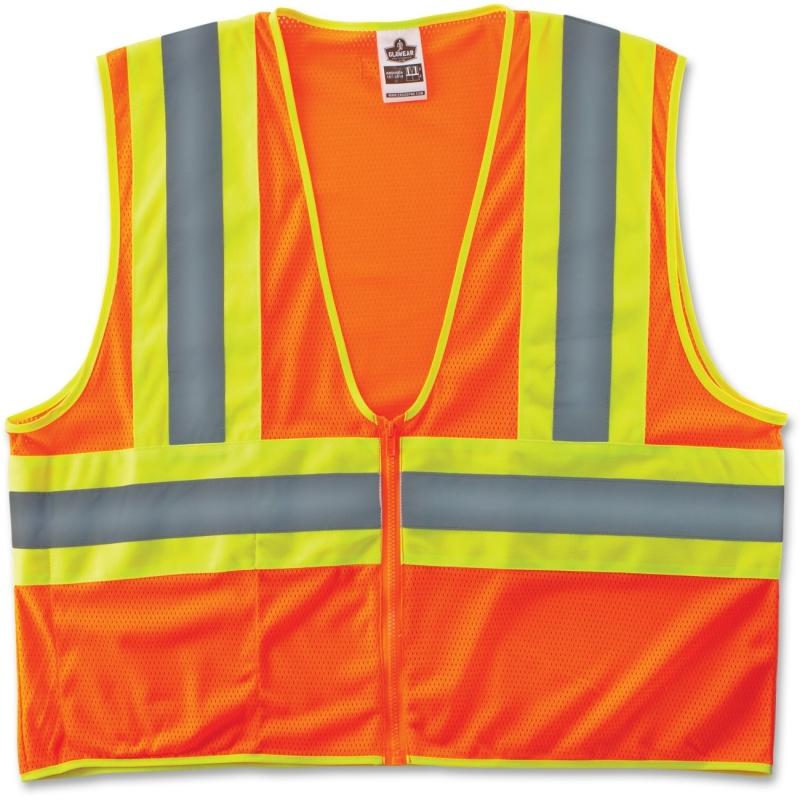 GloWear Class 2 Two-tone Orange Vest 21303 EGO21303 8229Z