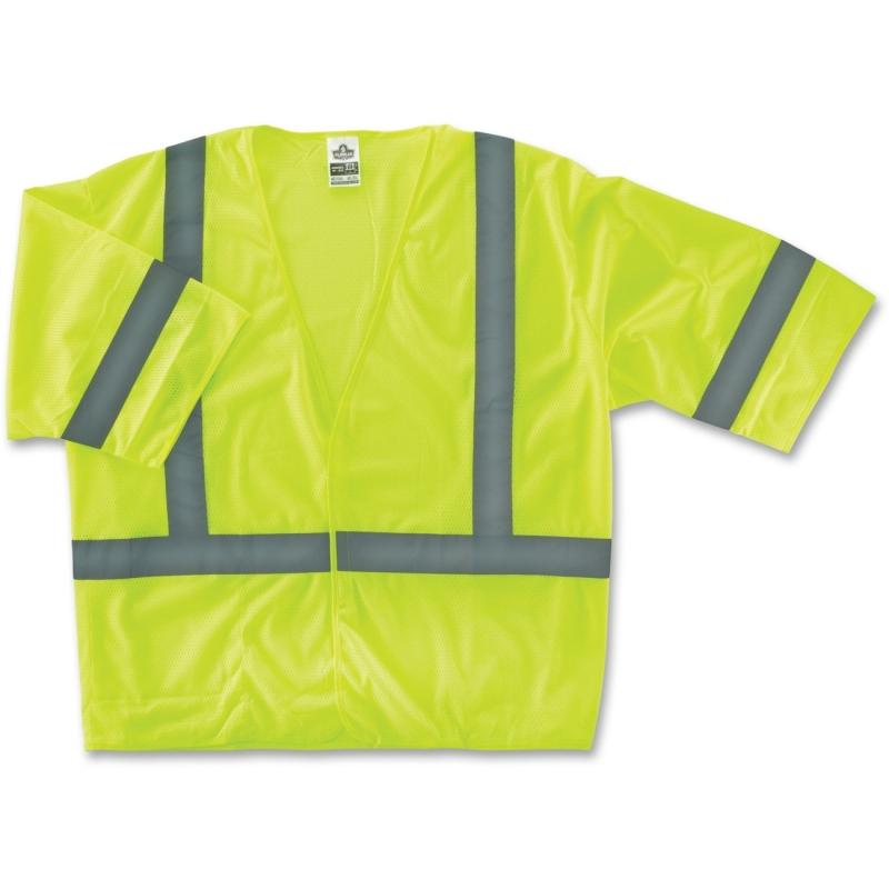 GloWear Class 3 Lime Economy Vest 22023 EGO22023 8310HL