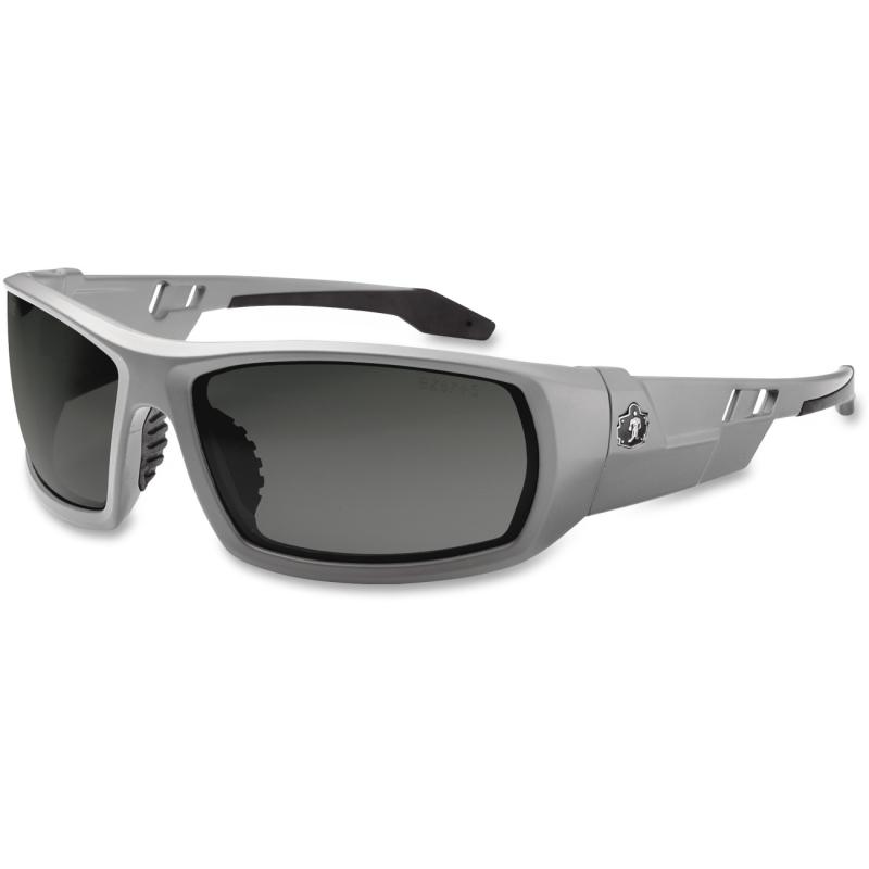 Ergodyne Smoke Lens/Gray Frame Safety Glasses 50130 EGO50130 Odin