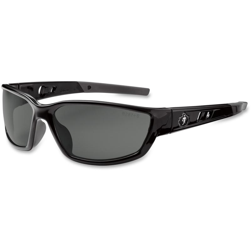 Ergodyne Smoke Lens Safety Glasses 53030 EGO53030 Kvasir