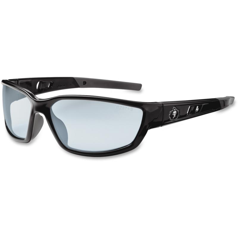Ergodyne Silver Mirror Lens Safety Glasses 53042 EGO53042 Kvasir