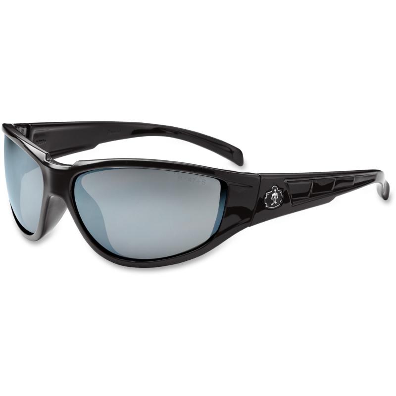 Ergodyne Silver Mirror Lens Safety Glasses 55042 EGO55042 Njord