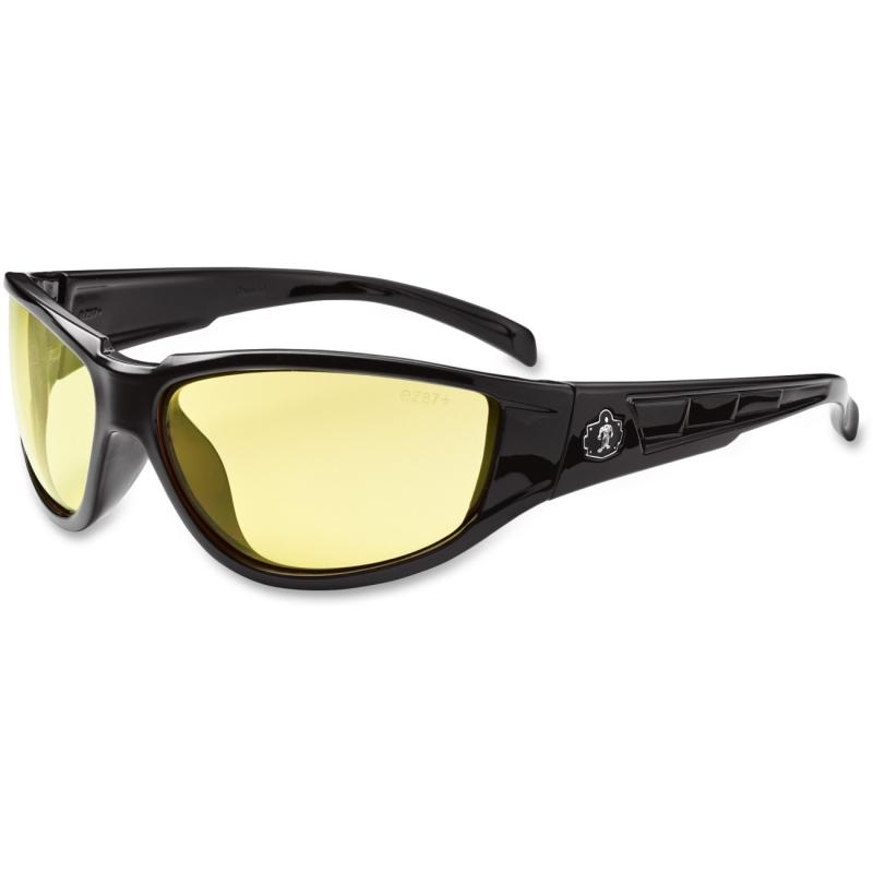 Ergodyne Yellow Lens Safety Glasses 55050 EGO55050 Njord