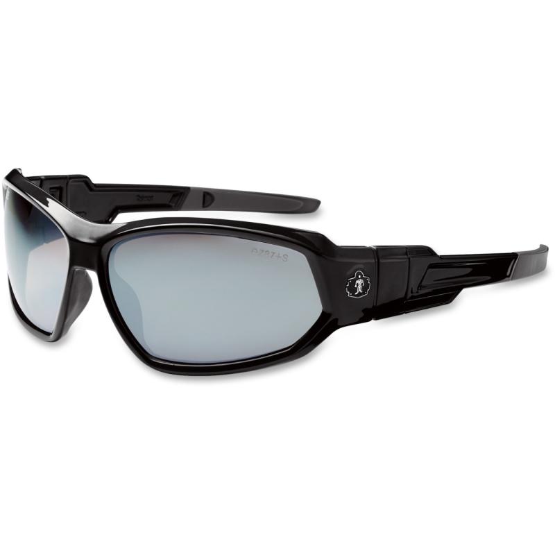 Ergodyne Silver Mirror Lens Safety Glasses 56042 EGO56042 Loki