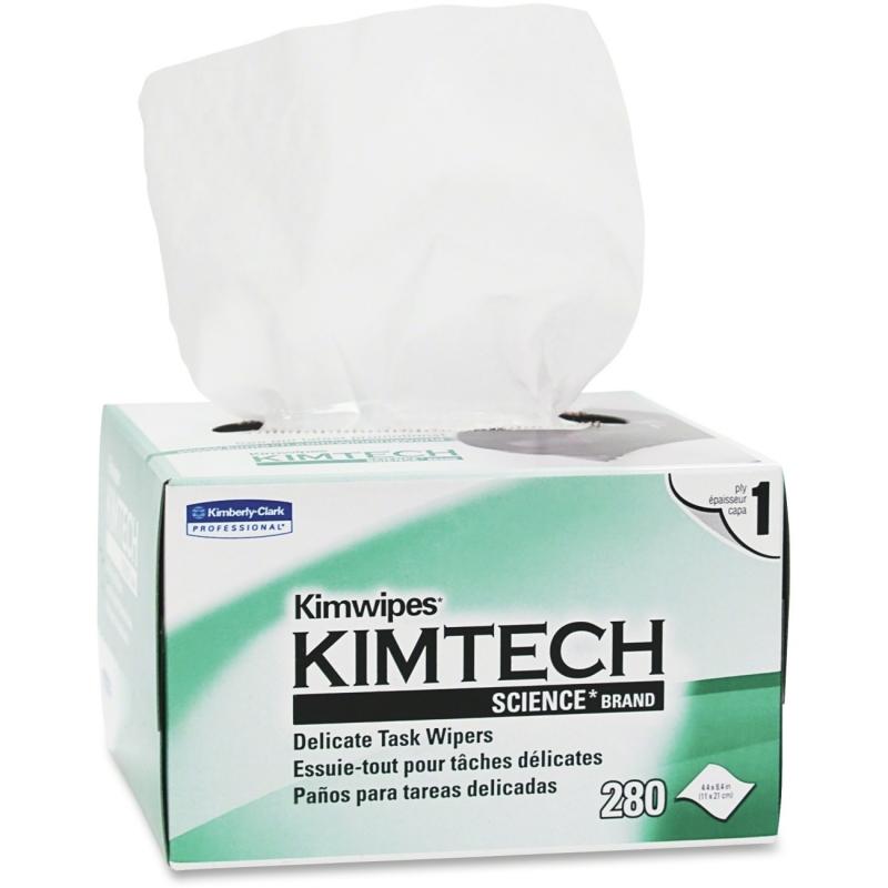 KIMTECH Kimwipes Delicate Task Wipes 34155CT KCC34155CT