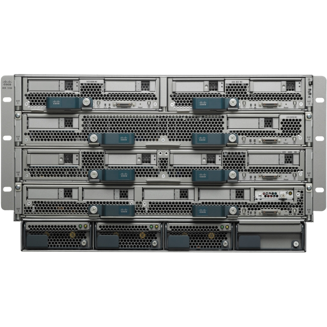 Cisco Blade Server AC Chassis, 4PS, 2 IOM UCS-SA-B-CH-101 UCS 5108