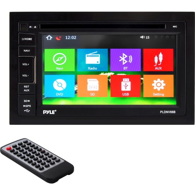 Pyle Automobile Audio/Video GPS Navigation System PLDNV66B