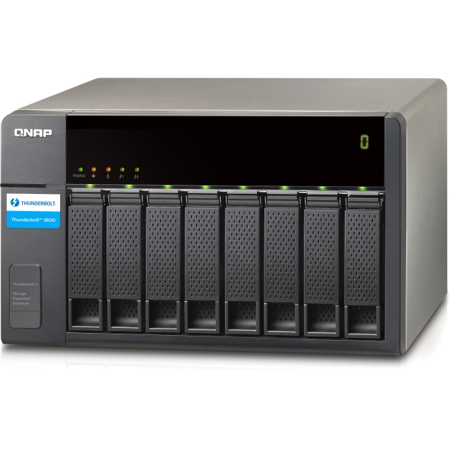 QNAP Thunderbolt Storage Expansion Enclosure for Thunderbolt NAS TX-800P-US TX-800P