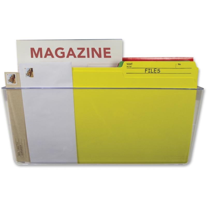 Storex Magnetic Wall File Pockets 70240U06C STX70240U06C