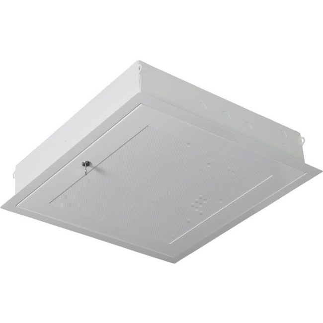 Premier Mounts 2 x 2 ft. Plenum Rated False Ceiling Equipment Storage GearBox GB-AVSTOR3
