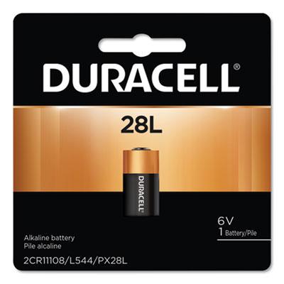 Duracell Lithium Battery, 6V, 1/EA DURPX28LBPK PX28LBPK